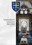 Univ Record cover 2020