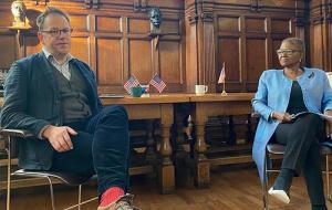 Adam Smith with Valerie Amos