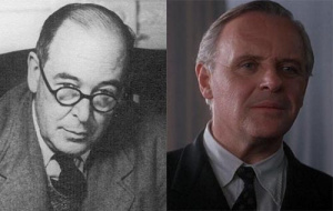 CS Lewis and Anthony Hopkins