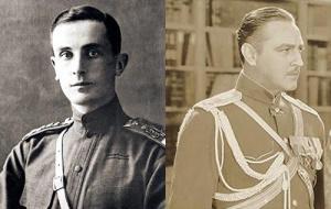 Felix Yusupov and John Barrymore