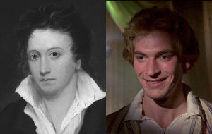 Percy Shelley and Julian Sands