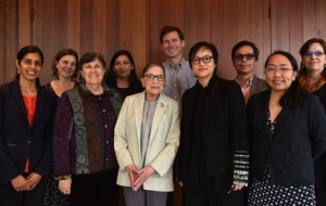 Professor Ruth Chang with Supreme Court Justice Ruth Bader Ginsburg