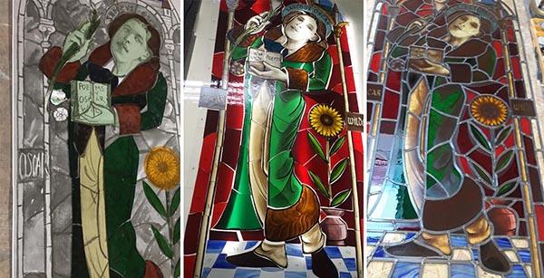 Saint Oscar window design process