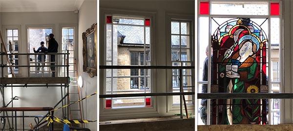 Installing the Saint Oscar window