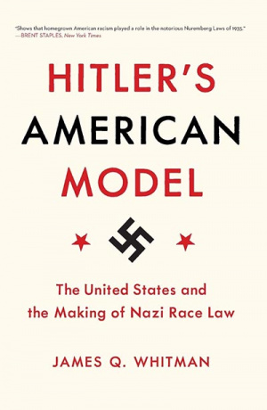 Hitlers American Model Book Cover