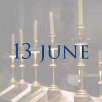 Order of Service 13 June