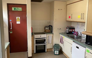 The Weir Common Room kitchen