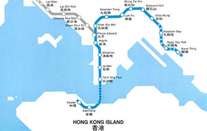 HK Route map