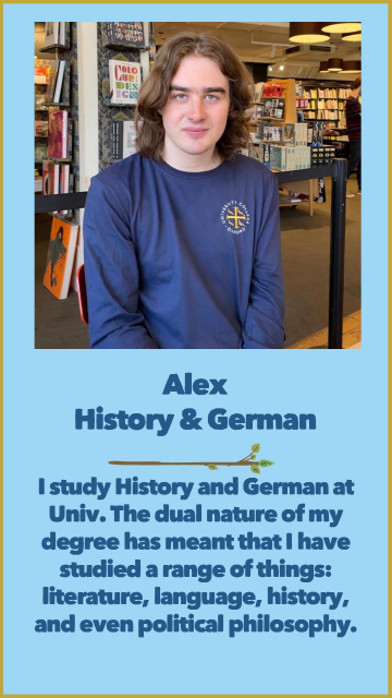 Alex - History & German