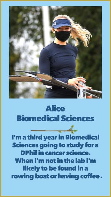 Alice - Biomedical Sciences