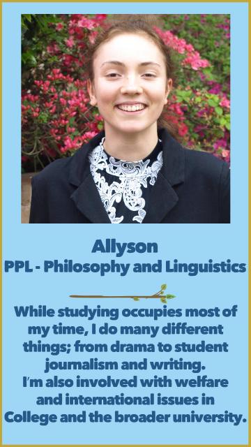 Allyson - PPL, Philosophy & Linguistics