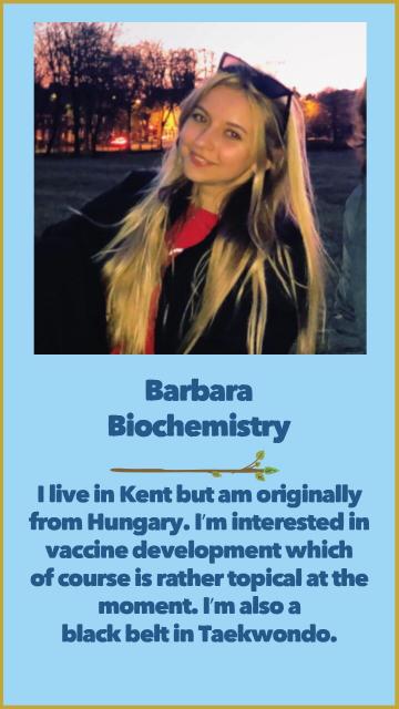 Barbara - Biochemistry