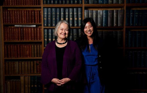 Catherine Yuen with Baroness Hale
