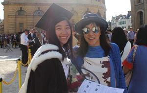 Catherine Yuen after graduation