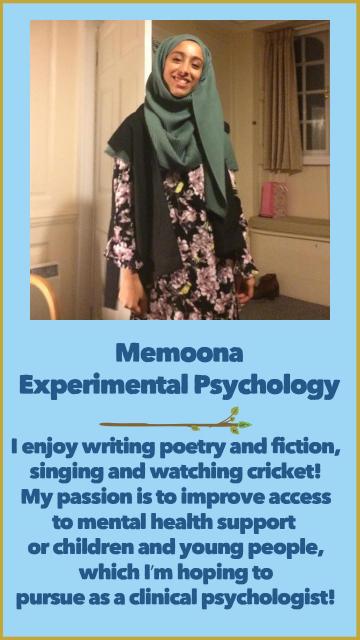 Memoona - Experimental Psychology