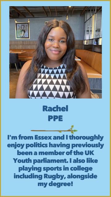 Rachel - PPE