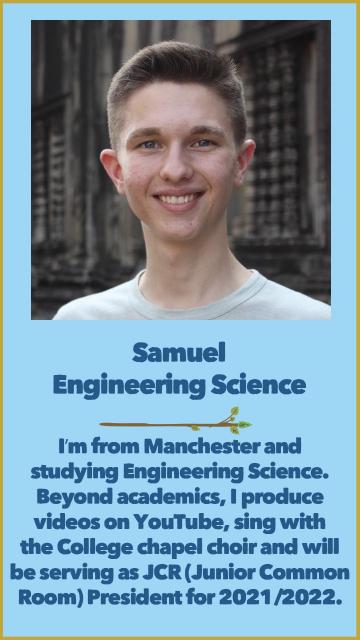 Samuel - Engineering Science