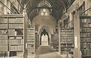 Univ Library in 1862